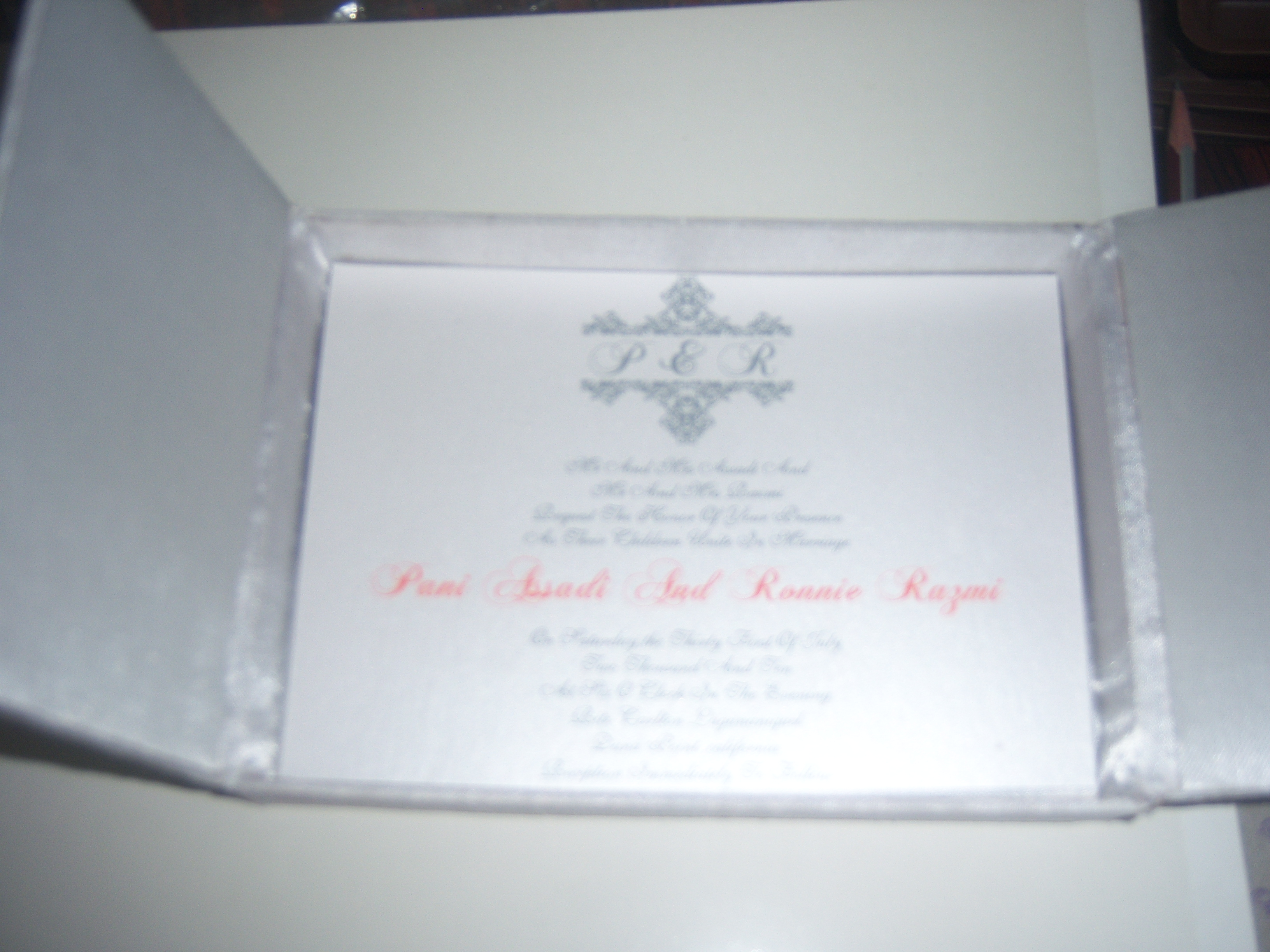Behind the Scenes @ Conifer:: Custom Printed Scroll Invites, Custom ...