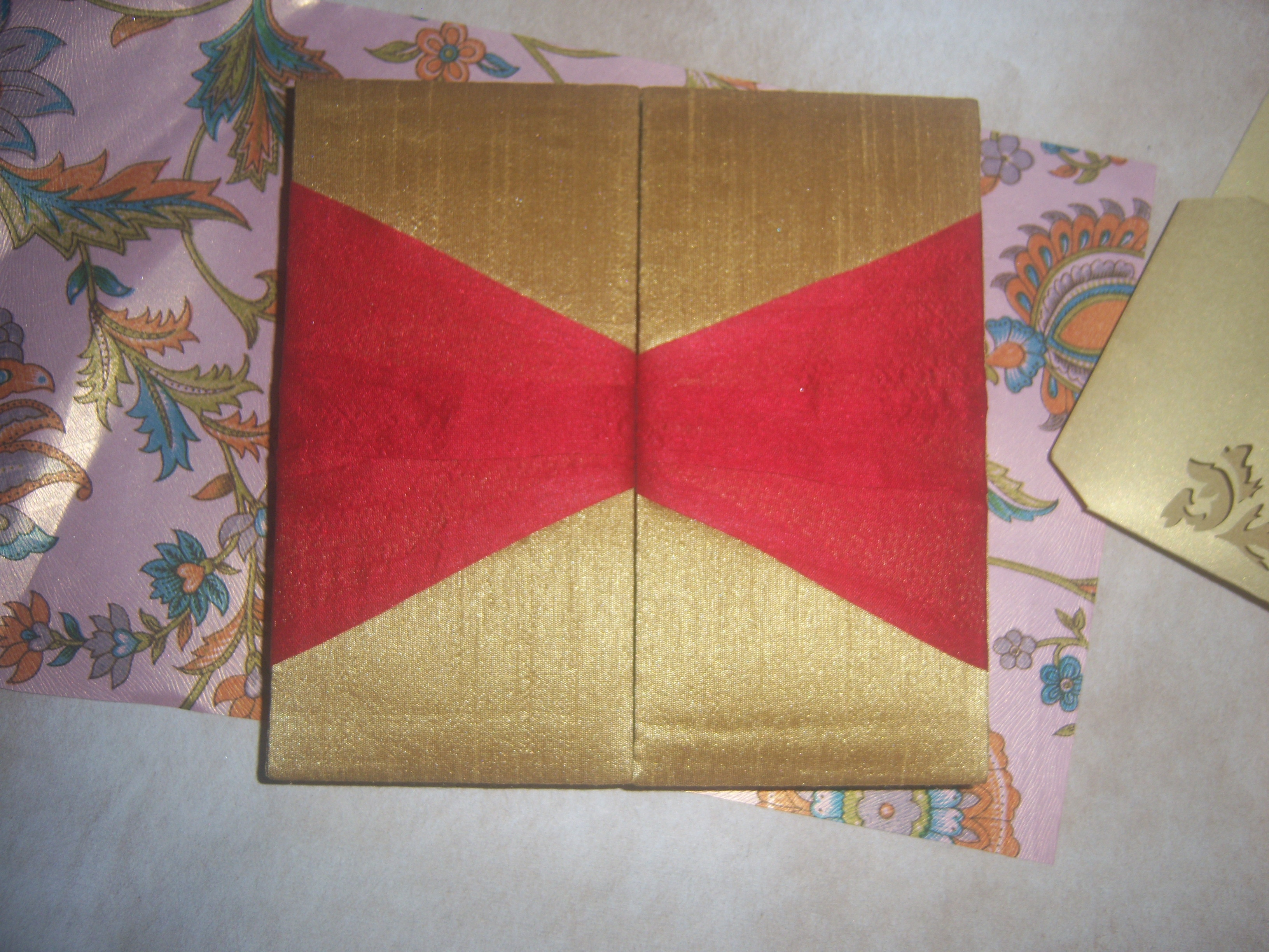 Wedding Invitation Fabric Covered Boxes – coniferhandmadepaperjourney