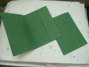 handmade paper files, paper files made fom handmade paper, eco friendly paper files, recyled paper files